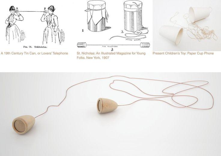 """Proyecto """"The new tin can phone"""" de Daniel Martínez - Mención especial del concurso 'El Cobre y la Casa 2014' en la categoría profesional. #copperindesign"""