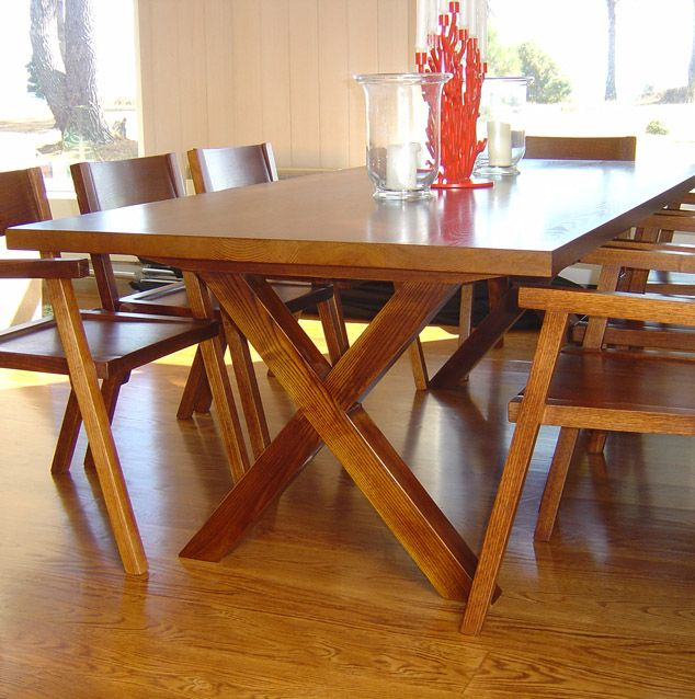 Country Trestle table.