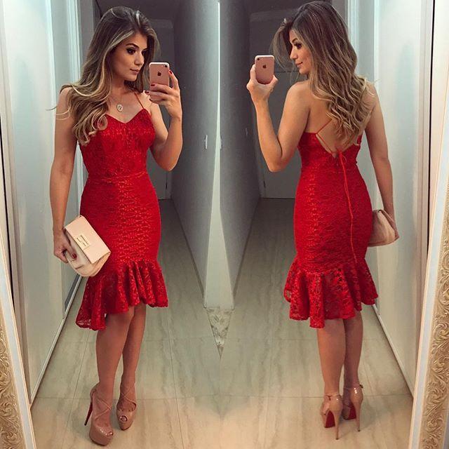 Red ❤️ Vestido @docemaria_oficial para @closetdamay 😍😍 Como não amar??😱😱