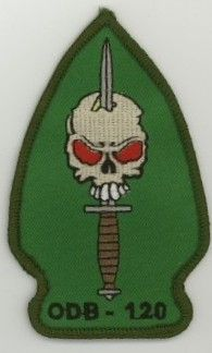 1st Special Forces Group Pocket Patches Operational Detachment B-120 BCompany, 1st Battalion