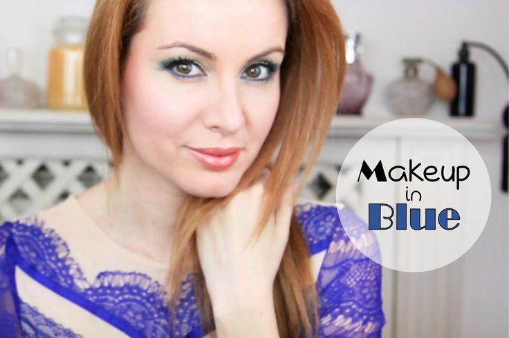 Trucco x abito blu 3lg