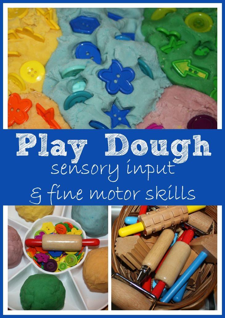 Play Dough Fine Motor Skills & Proprioception Sensory Input
