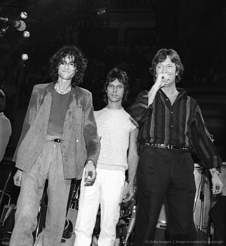 Jimmy Page of Led Zeppelin with Jeff Beck and Eric Clapton #JimmyPage #LedZeppelin #Zeppelin #LedZep #Zep