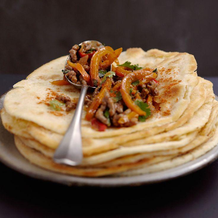 Découvrez la recette des tortillas de boeuf