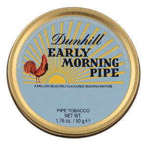Dunhill Early Morning Pipe Tobacco Reviews - Pipe Tobacco Reviews - LuxuryTobaccoReviews.com. Respectable smoke.