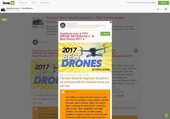 flygcforum.com ✈ FPV DRONE REVIEWS #2 ✈ 10 Best Drones 2017 ✈