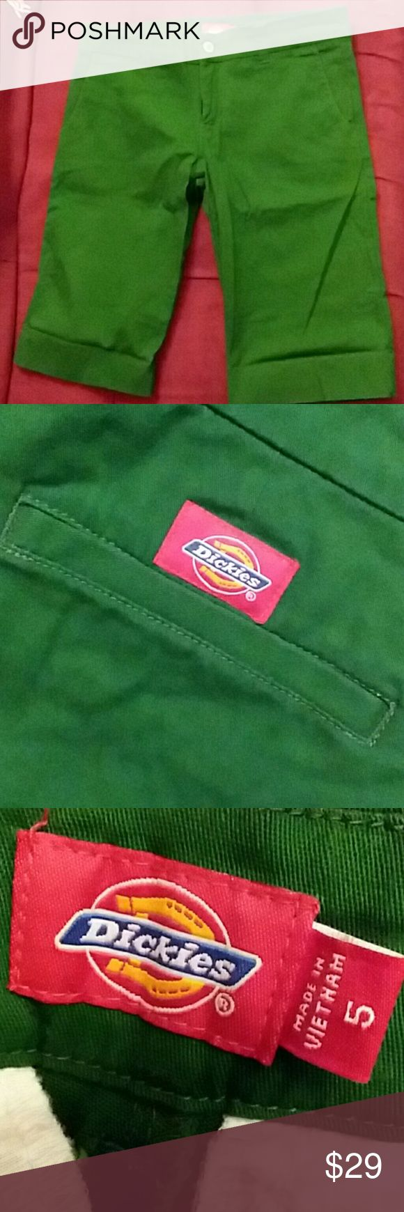 Green Dickies shorts In excellent condition. Dickies Shorts