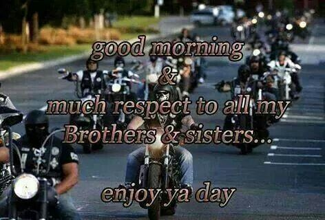 Good Morning much respect to all my brothers & sisters ...