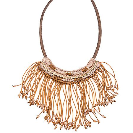 We bet that you're craving for an easy yet eye-catching look! This necklace is all with this fringes in pastel hues and it is ready to make you look awesome!   #achilleas_accessories #necklace #fringes #pastel #look #style #ootd #stylish #fashion #shopping #eshop