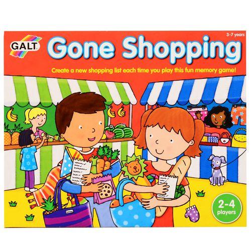 Irány a bolt! memóriajáték Galt