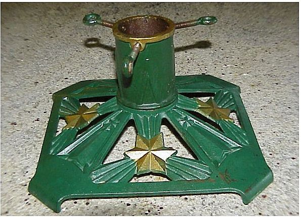 vintage christmas tree stand green cast iron circa 1930s vintage christmas tree stands pinterest vintage christmas christmas tree and iron - Metal Christmas Tree Stand