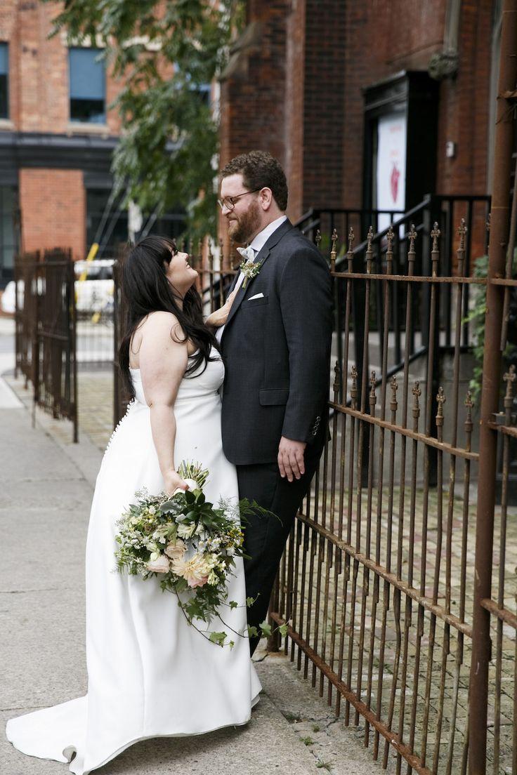 berkeley curch - toronto event venue- toronto wedding couple