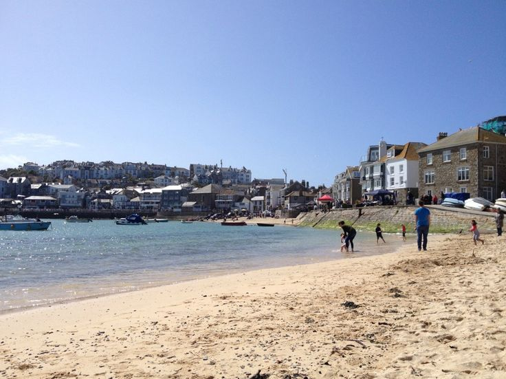 Harbour Beach St Ives Cornwall