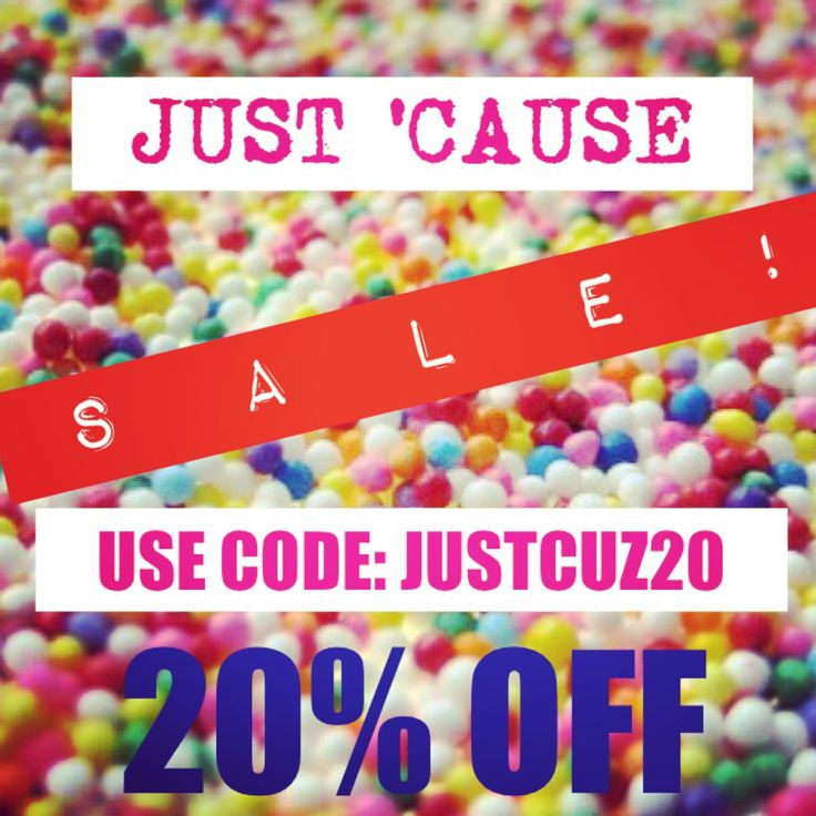 It's SALE TIME!!!  Why?  Just because!   20% OFF STOREWIDE ALL WEEKEND!  My sale starts now and goes until 11:59PM AEST Monday!  Get in quick to snag your fave item before it goes - I SHIP WORLDWIDE! ☺