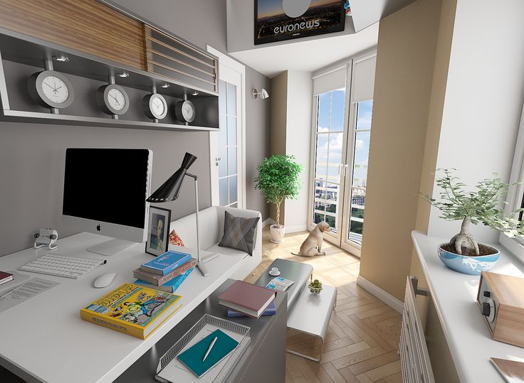 Ознакомьтесь с моим проектом в @behance: «private office, Innedesign