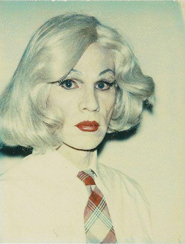 "Andy Warhol's drag-queen alter-ego, ""Drella."""