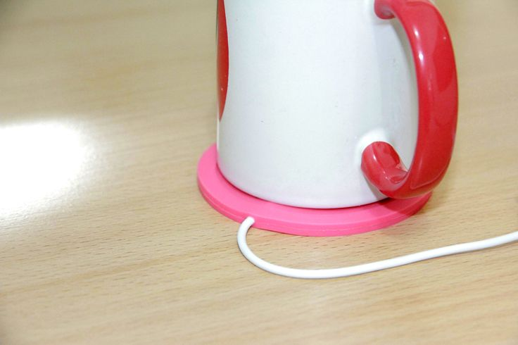 USB Cup Warmer Pink Rp 55.000