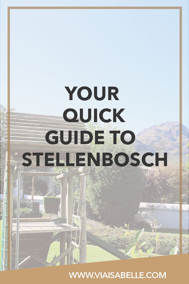 Have you ever heard of the little town, Stellenbosch along the Western Cape? I have and I gotta tell you -- it's one of the most scenic places you'll ever go to! Nestled near mountains, vine yards, with tons of art along the way...It's a traveller's dream! If you'd like to know more about this beautiful town, click the link below as I give you a short guide and a detailed review + story about my introduction to good wine and Lanzerac Wine Estate!