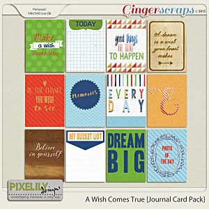 A Wish Comes True [Journal Card Pack]