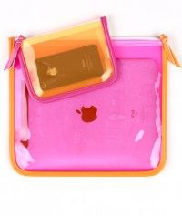 Clearly Cool Beach Set ...zippered cases to keep IPhone and IPad sand-free