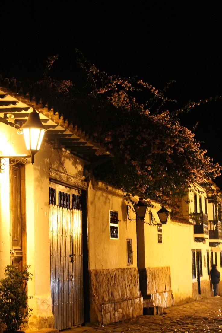 Villa de Leyva nocturna, Boyacá 2012 #SomosTurismo