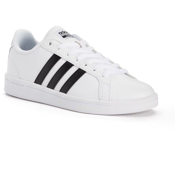 3156a2dd6da Adidas NEO Cloudfoam Advantage Stripe Women s Shoes ( 65) ❤ liked on  Polyvore featuring shoes