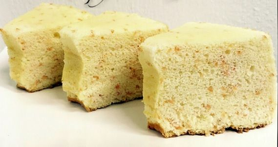 Getting bored of plain chiffon cakes? Than you got to try out this Yuzu with Grapefruit Pulp chiffon cake recipe by Chef Julie Yee!