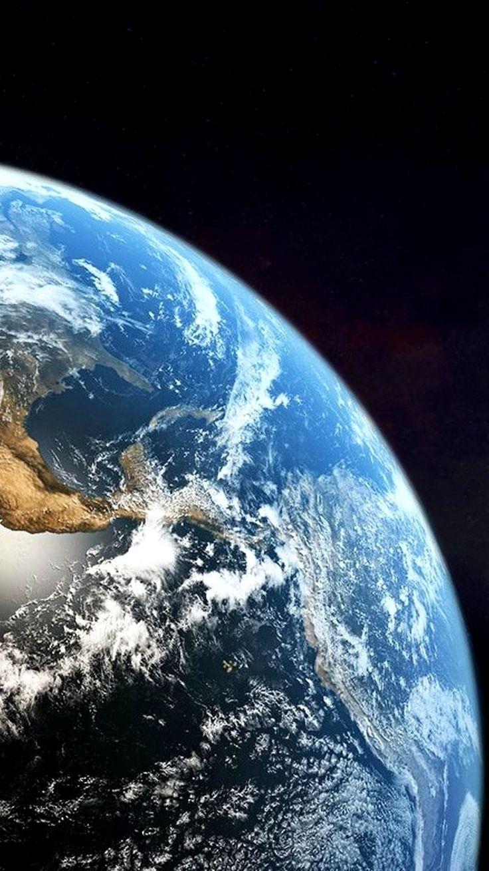 Earth Wallpaper 4K Phone Gallery in 2020 Weltraum, Nacht