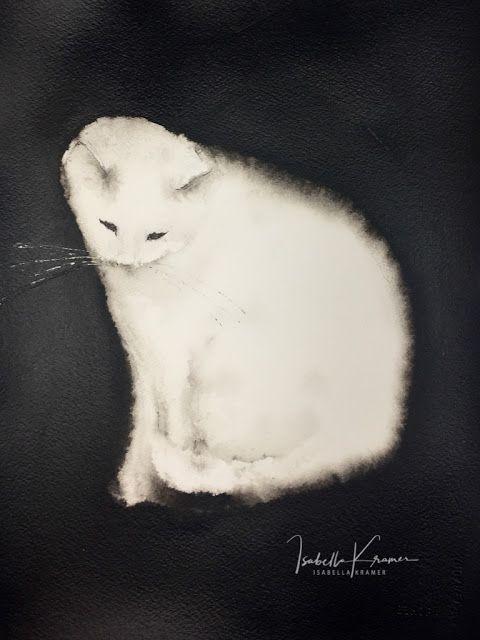veredit – art ©: Endres mit der Katze – Watercolor & ink art (group board)