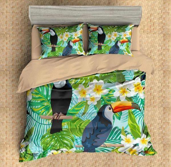 3d Customize Toucan 5 3d Customized Bedding Sets Duvet Cover Bedlinen Bed Set In 2021 Duvet Bedding Sets Duvet Cover Sets Customised Bed