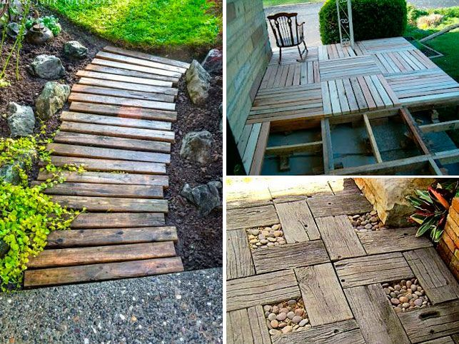 55 ideias maravilhosas para o jardim com paletes de madeira Cultivo, plantas, jardim, ideias  -> Decoração Para Jardins Com Paletes