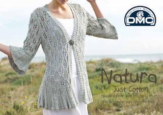 Natura Just Cotton de DMC revista con patrones