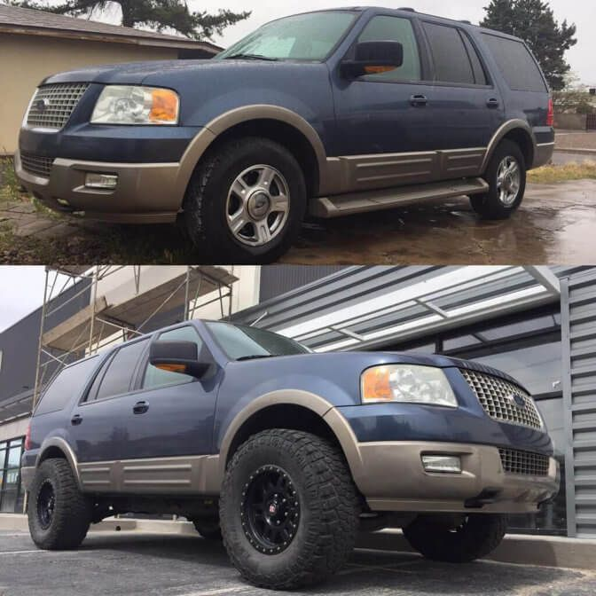 Ford Expedition 33 Inch Tires Vs 35 Pictures Lift And Wheel