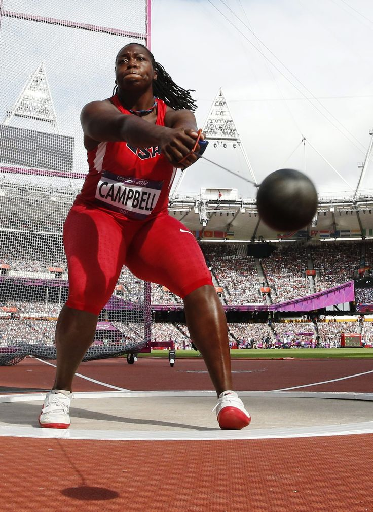 Olympic Hammer Throw | think heftier weight lifters or hammer throwers rather than lean and ...