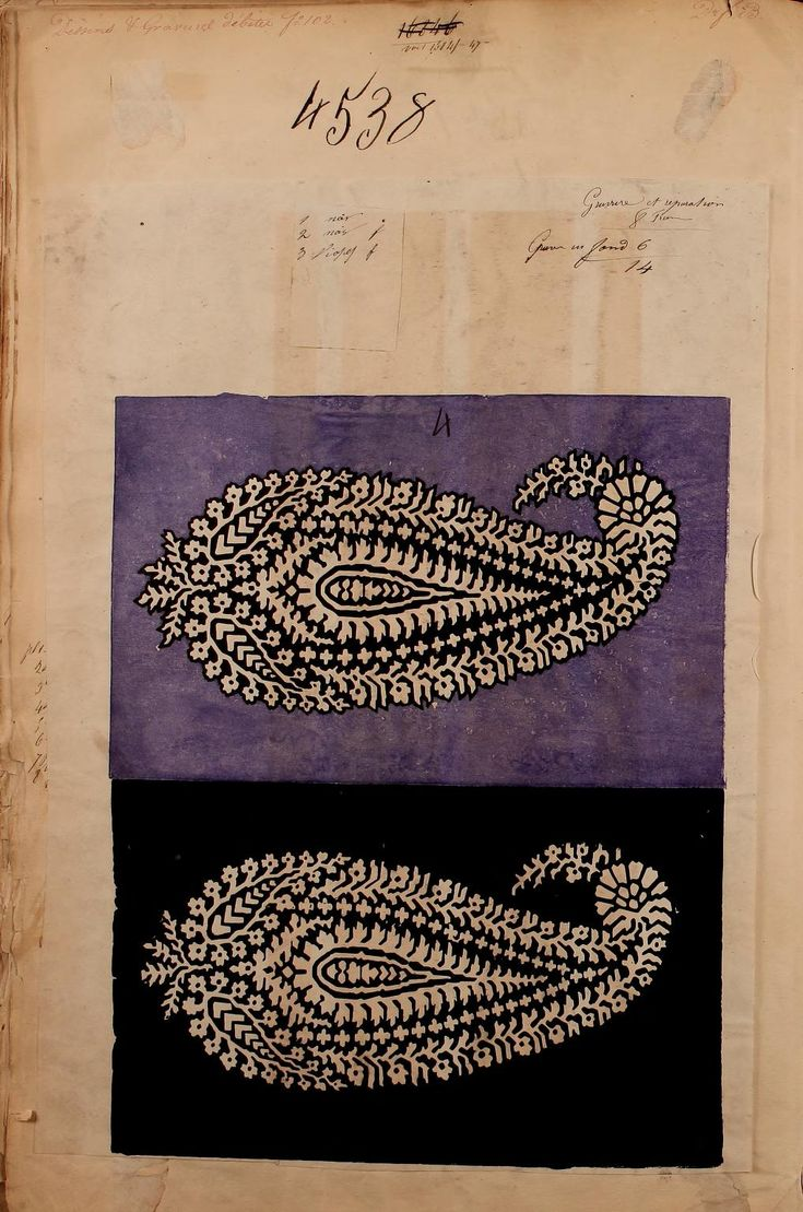 [French textiles]