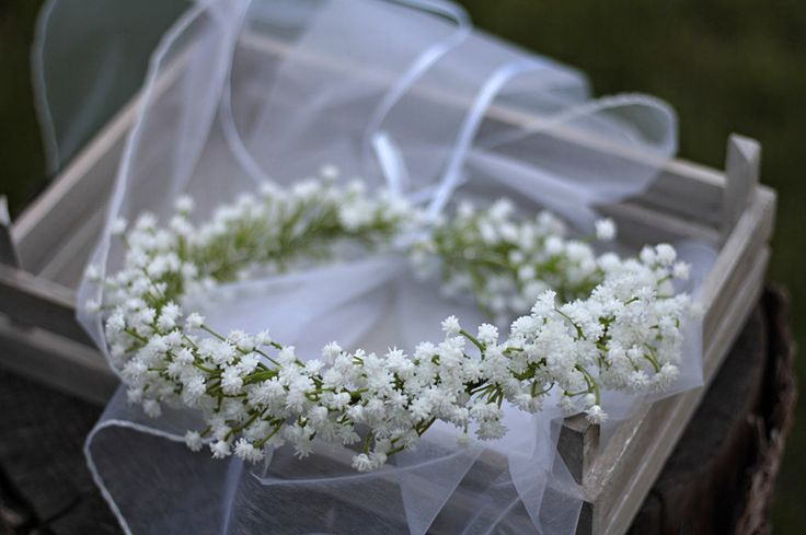 Hair Flowers – Flower head wreath,floral head wreath,flower crown – a unique product by evafleur on DaWanda