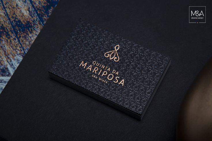 Design, Branding de toda a identidade da marca Quinta da Mariposa