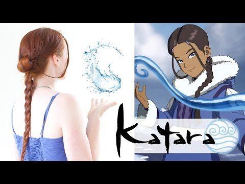 Silvousplaits Hairstyling | An Avatar Hair Tutorial - Katara - Silvousplaits Hairstyling