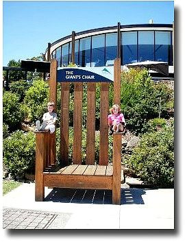 The Giant's Chair, Melbourne, Australia.  Fun for kids!