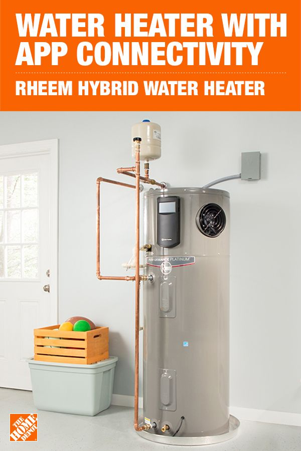 Rheem Performance Platinum 50 Gal 10 Year Hybrid High Efficiency Smart Tank Electric Water Heater Xe50t10hd50u1 The Home Depot Diy Home Cleaning Home Building Tips Hybrid Water Heaters