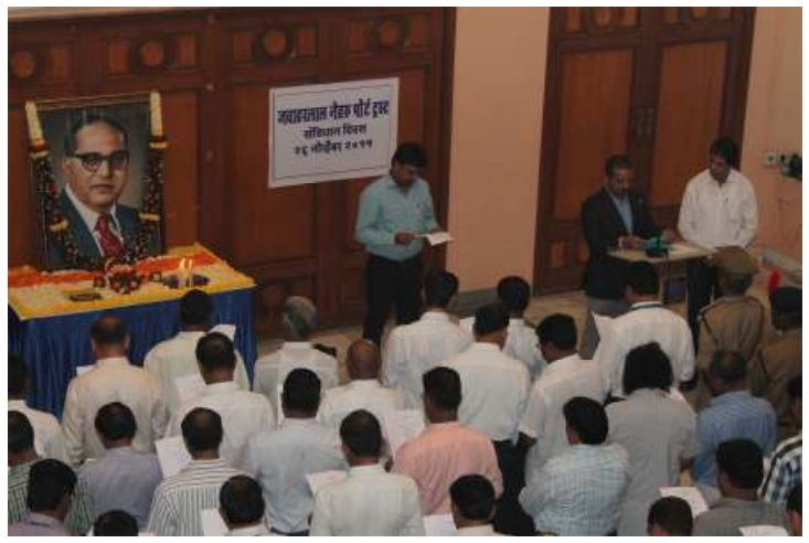 JNPT NewsConstitution Day observed at JNPT  News in Detail: