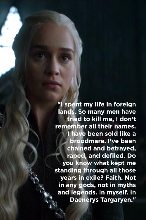 5 Great Game of Thrones Season 7 Episode 3 Quotes #asoiaf #gameofthrones #GOTSeason7