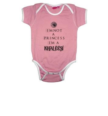 Body de bebé: No soy una princesa, soy una Khaleesi.