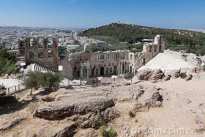 Odeon of Herodes Atticus Athens Greece by Alexandre Fagundes De Fagundes, via Dreamstime