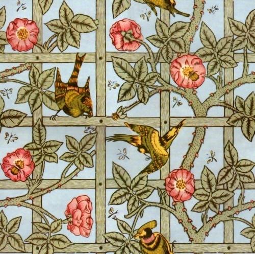 William Morris Trellis: Cloakroom And Shower