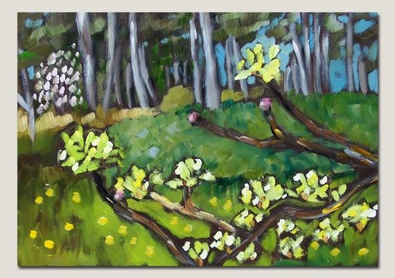 spring buds open edition print 5 x 7 by moulton by prattcreekart