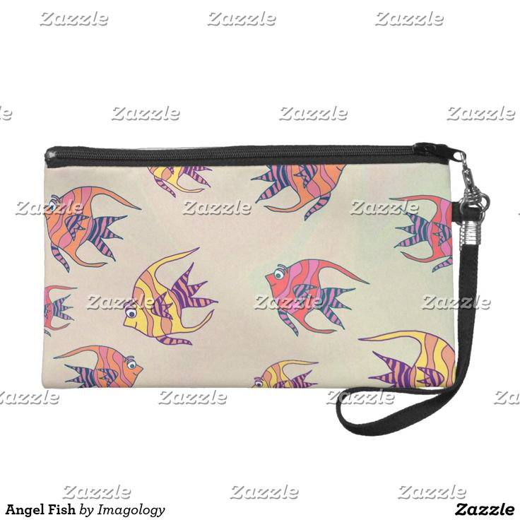 Angel Fish Wristlet