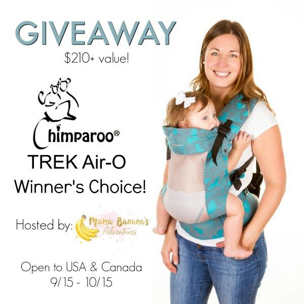 Chimparoo TREK Air-O Carrier {Giveaway} - Mom's Little Feat