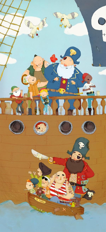 Pirates by James Davies, via Behance