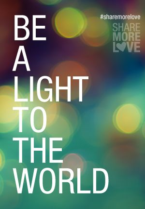 Be a light to the world. Kabbalah teaches you how ❤️